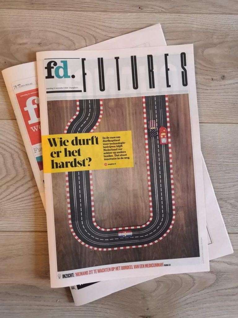 5 pagina's in Het Financieele Dagblad voor 'Het geheim van Silicon Valley'